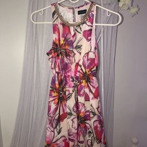 Girls Marciano floral dress worn once